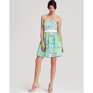 Lilly Pulitzer Langley New Green Dress 10 NWT $258